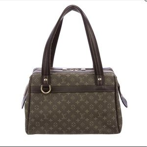 Authentic Mini Lin canvas Louis Vuitton